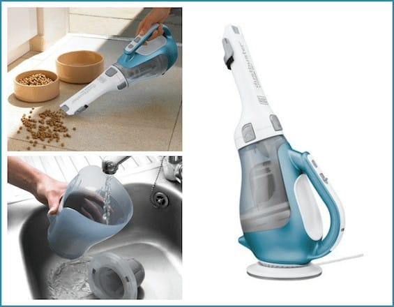 Hand vacum cleaning