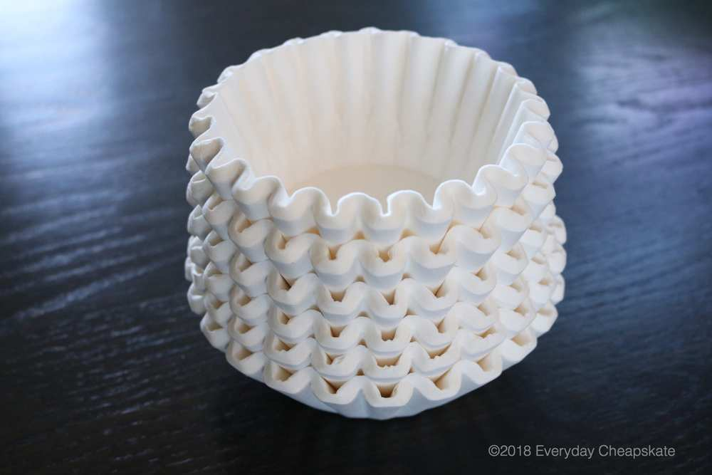 stack-of-basket-style-coffee filters