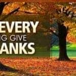 Make Every Day Thanksgiving