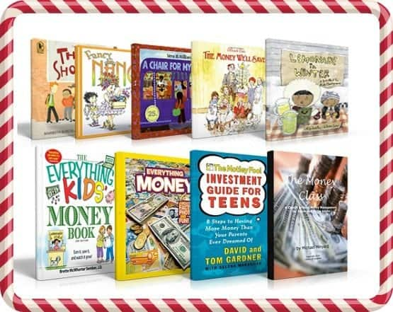 Books for kids talking about saving money