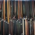 Bag a Bargain on Men's Leather Belts in ANY Size