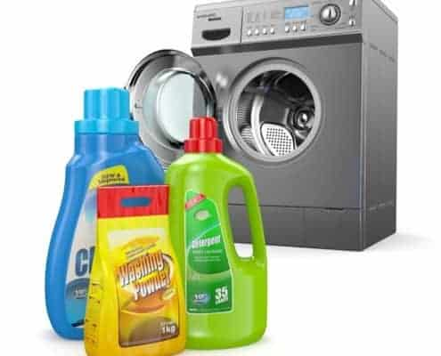 Bottle and Detergent