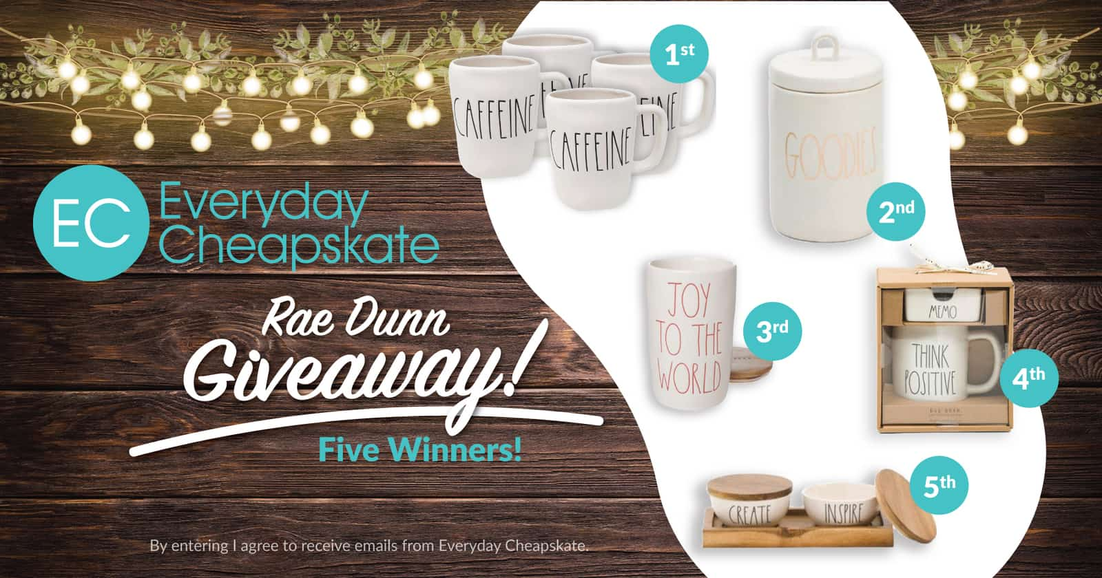 Rae Dunn GIVEAWAY!