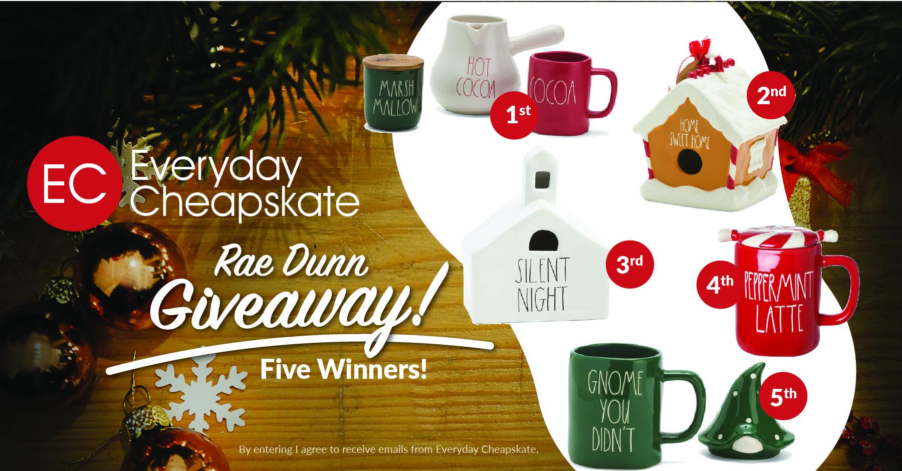 Rae Dunn Christmas Giveaway
