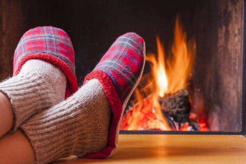 relaxing-at-the-fireplace-on-winter evening