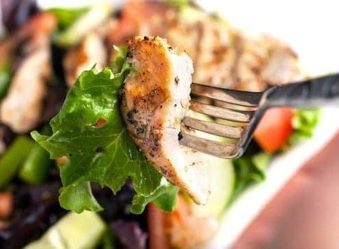 Boneless skinless chicken breasts perfectly prepared
