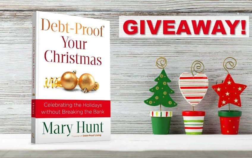Debt-Proof Your Christmas Giveaway