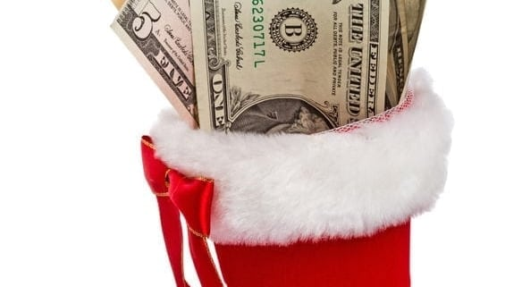 Christmas-money-in-red-boot