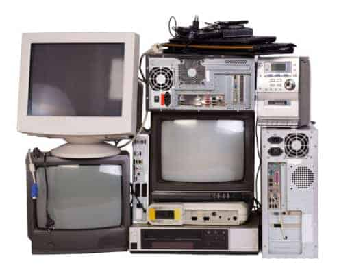 A close up of electronic equipment