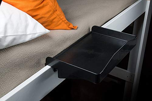Bedside shelf that attaches to any bed