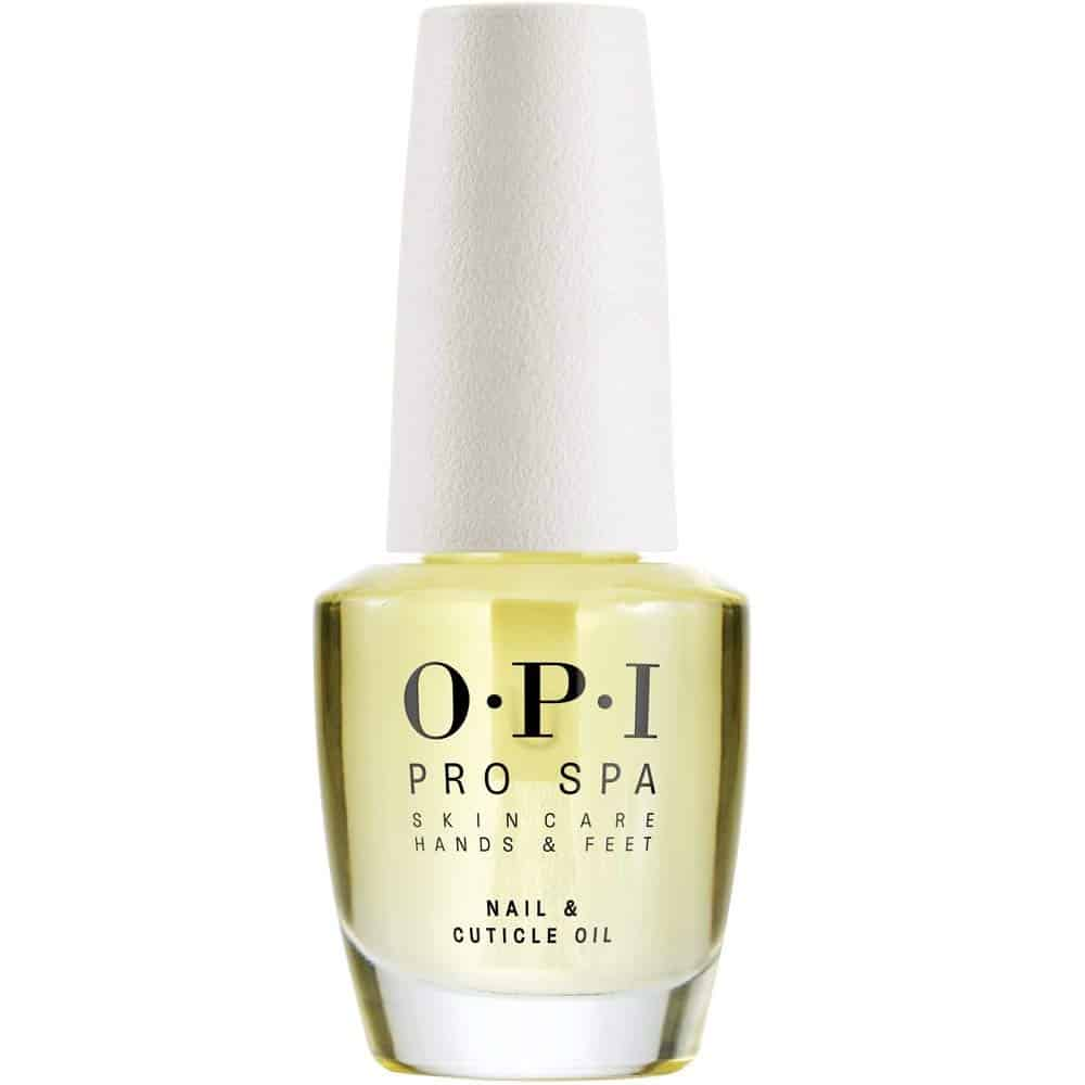 Bottle of O.P.I. nail and cuticle oil