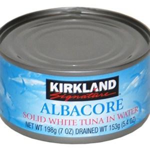 can Kirkland brand albacore