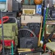 Basement, garage, clutter, rummage, junk pile, storage area, mess