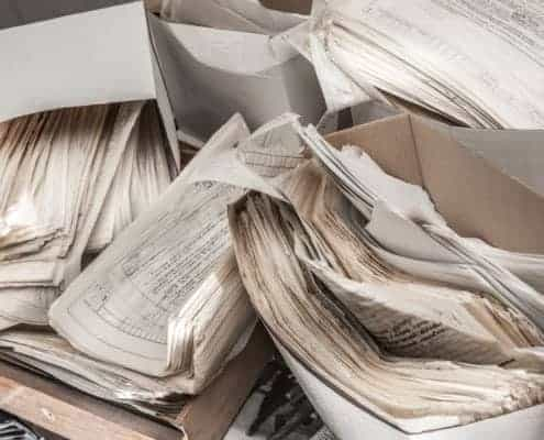 tax-returns-piles-paper-records-paper-monster