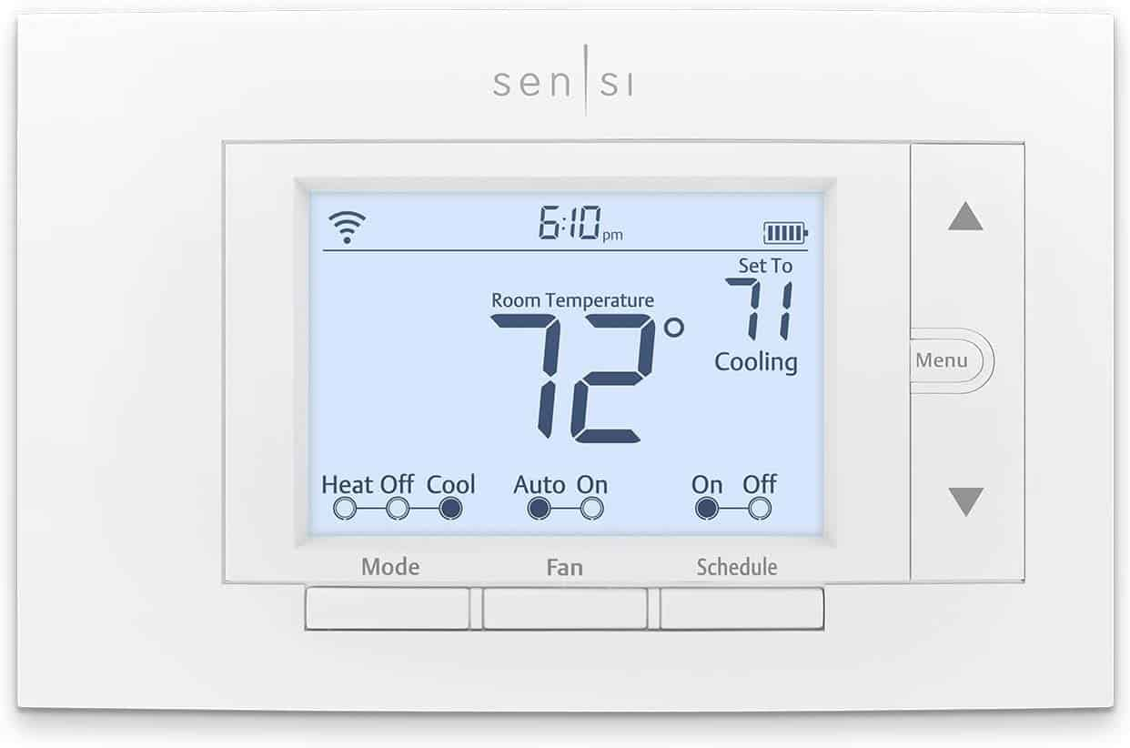 programmable thermostat for the home