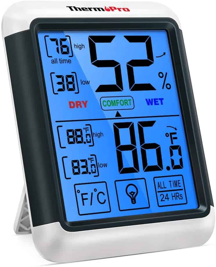 hygrometer humidity guage for indoors