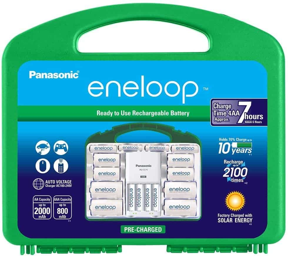 kit for rechargeable batteries Eneloop Panasonic