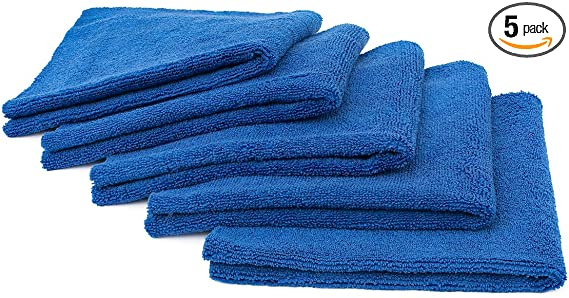 A blue towel
