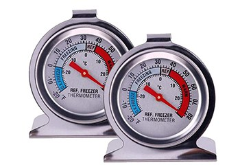 fridge and freezer thermometers