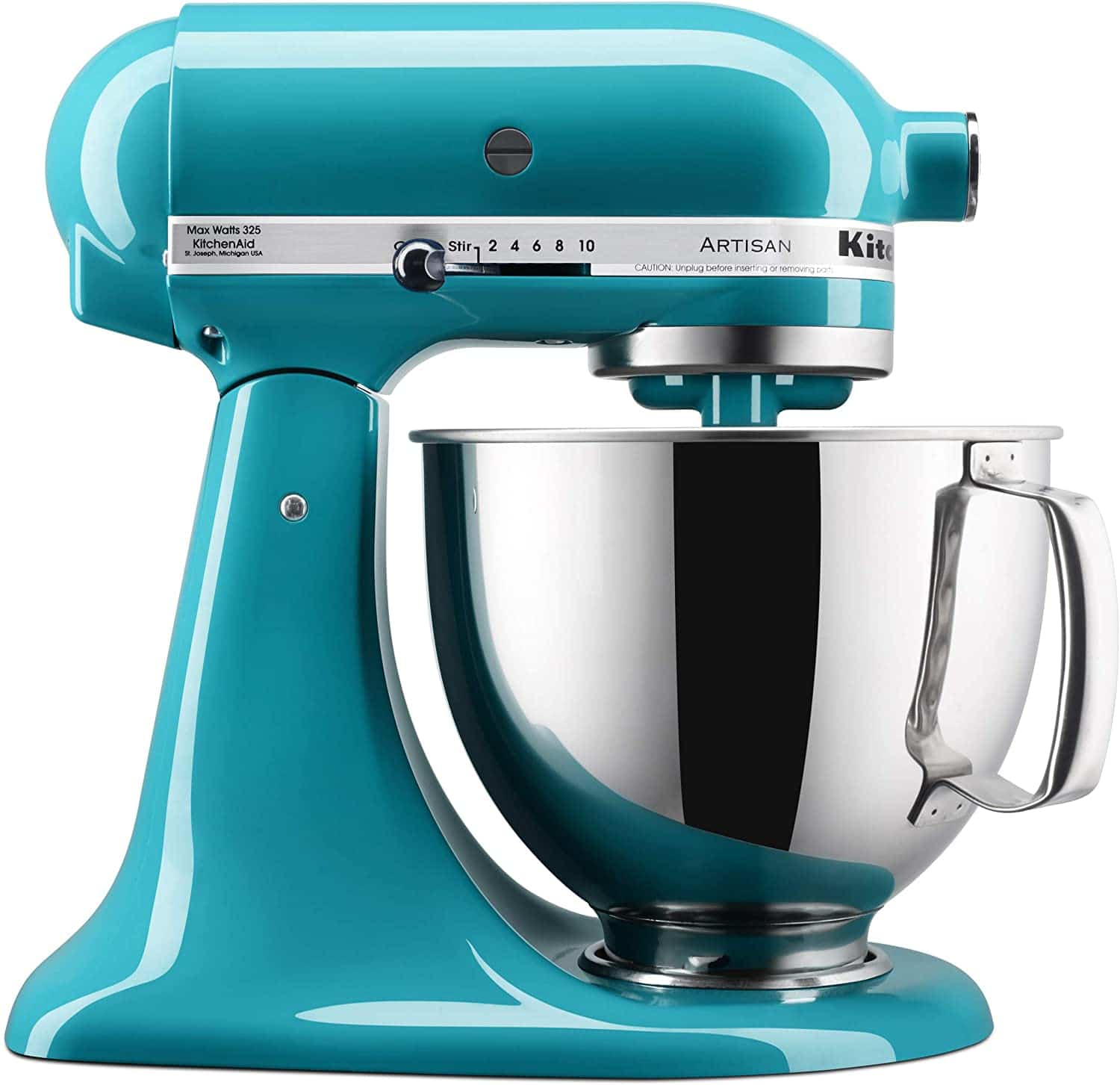 kitchenaid stand mixer 5 qt turquoise color
