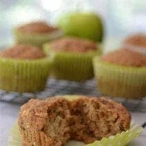 Delicious homemade apple muffins that are healthy to eat and easy on the budget