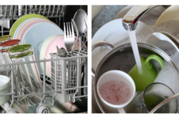 handwashing vs dishwasher