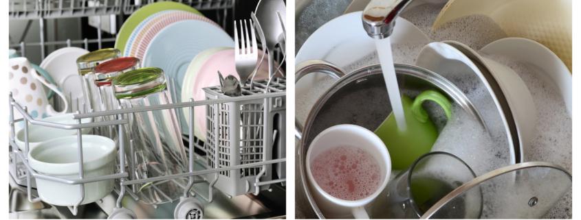 handwashing vs dishwasher