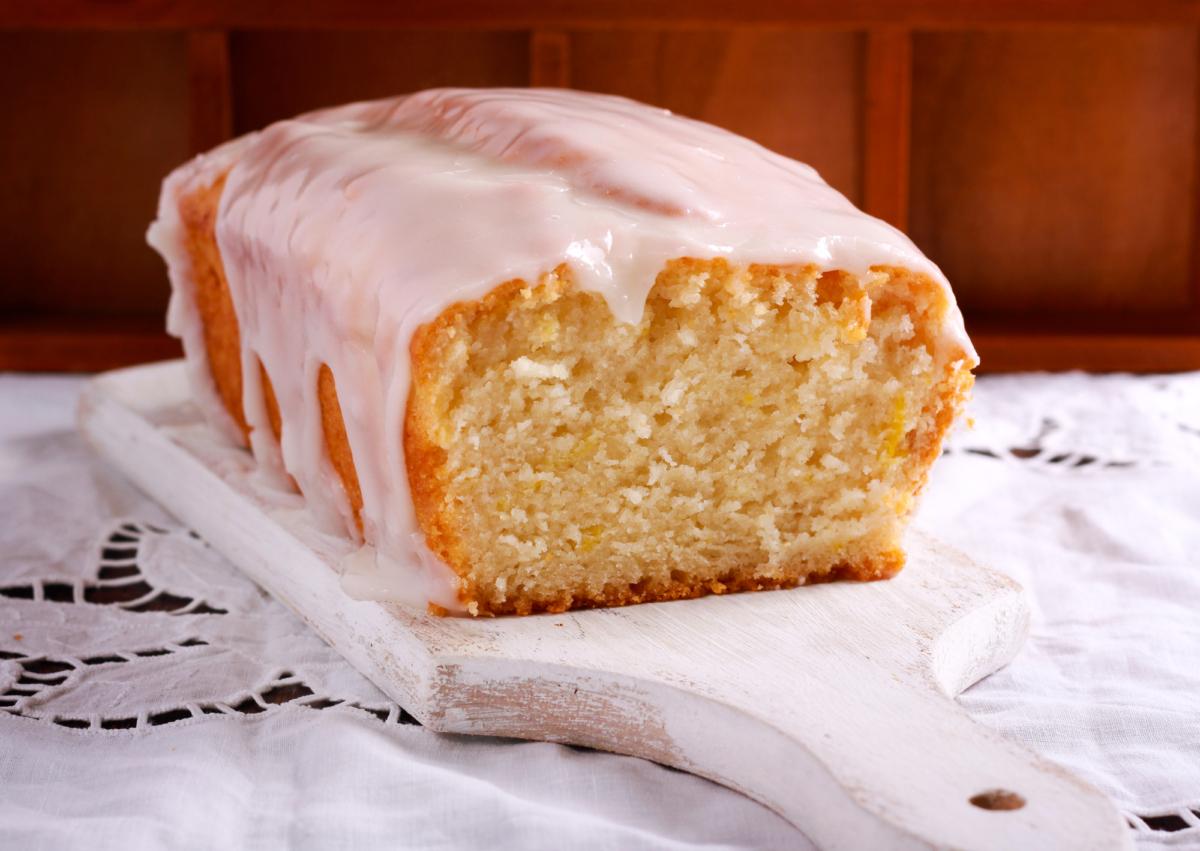 Copycat Starbuck's Lemon Loaf with glaze