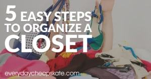 How to Organize a Closet in 5 Easy Steps
