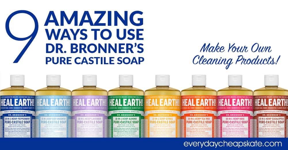 Magic Soaps Pure-Castile Liquid Soap Citrus Orange by dr bronners #12