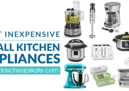 Best Inexpensive Small Kitchen Appliances