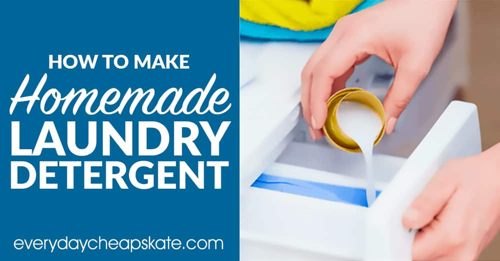 Original DIY Laundry Detergent (Powder