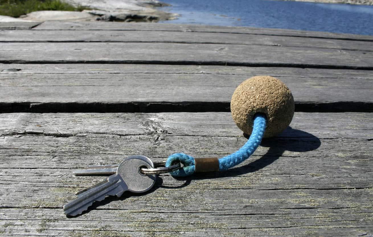key on a cork