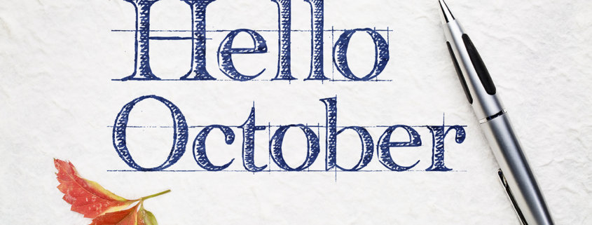 Hello October Header