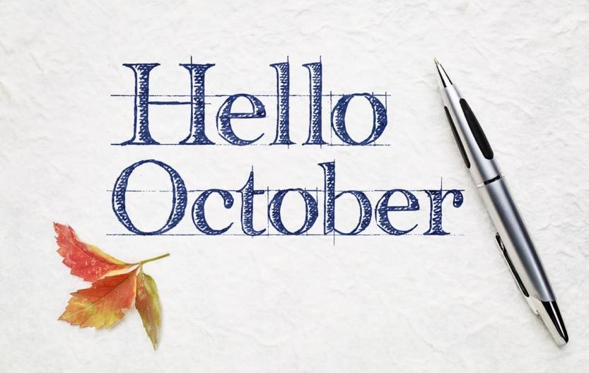 Hello October Header