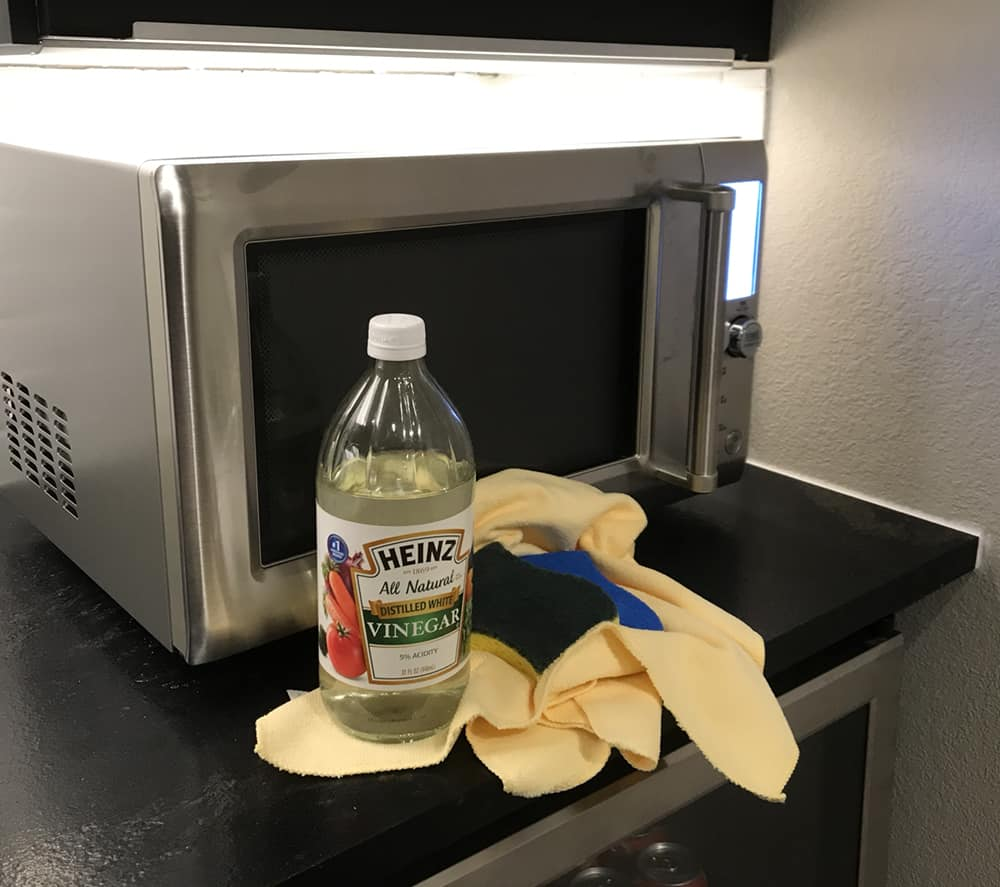 Vinegar and Oven