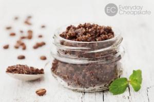 DIY Body Scrub from Coffee Grounds