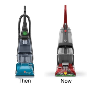 Hoover Steam Vac then and now