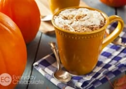A cup of Pumpkin Spice Latte