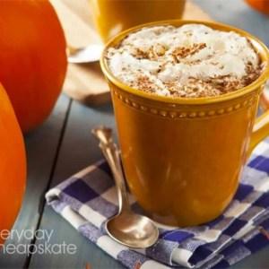 A cup of Pumpkin Spice Latte