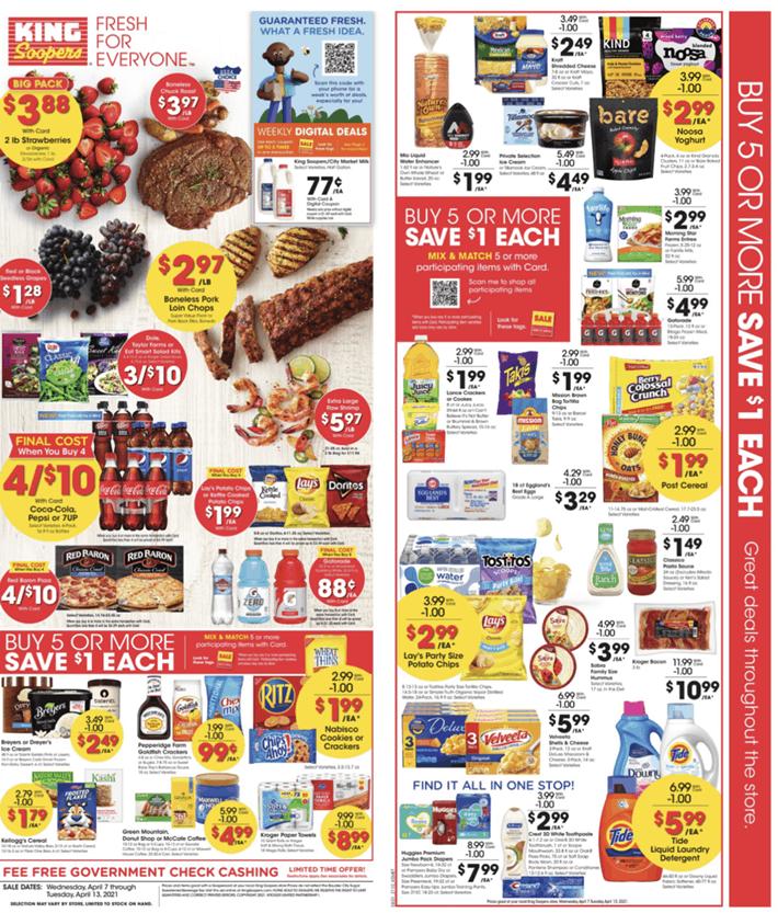 Supermarket Weekly Ad