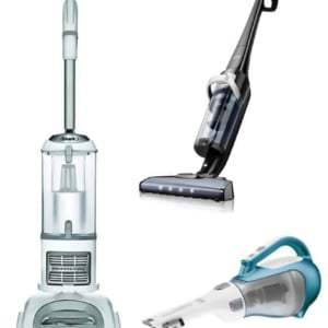 3 vacuums we use every day