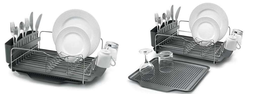 Dish Rack and Polder