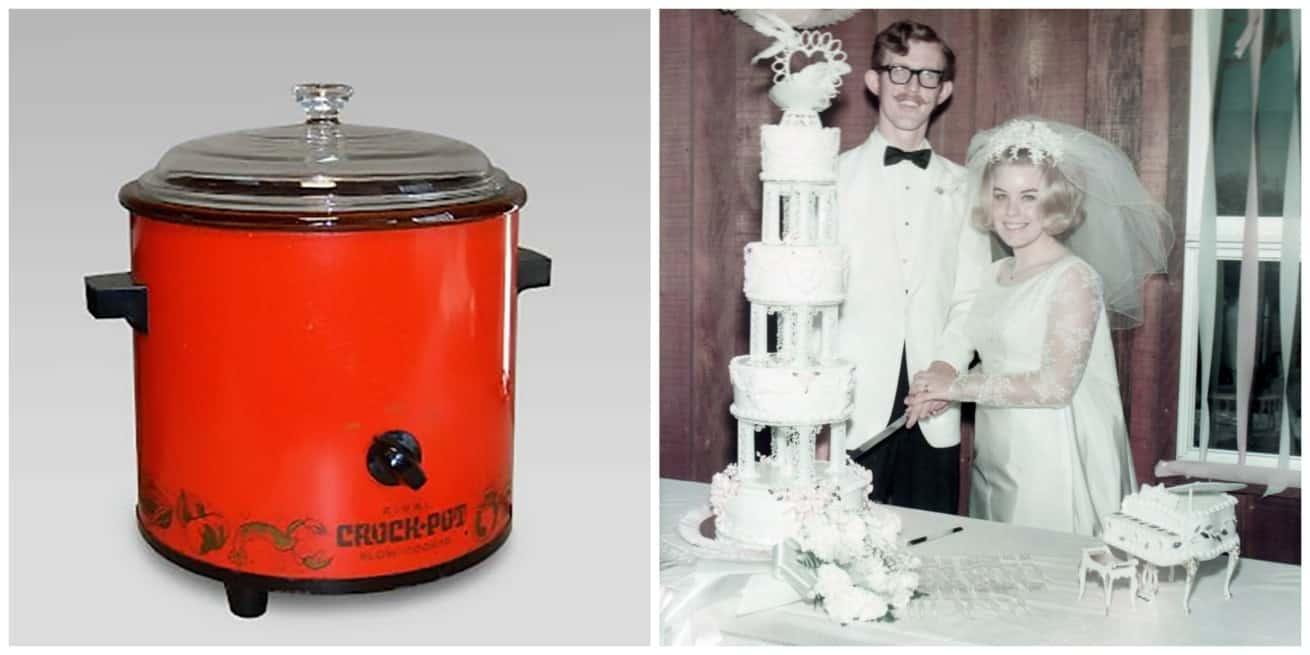crockpot 1971 wedding 1970