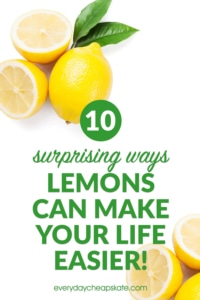 10 Surprising Ways Lemons Can Make Your Life Easier