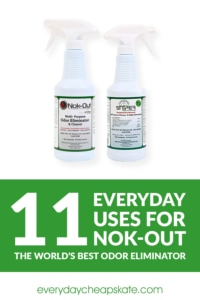 11 Everyday Uses For Nok-Out—The World's Best Odor Eliminator