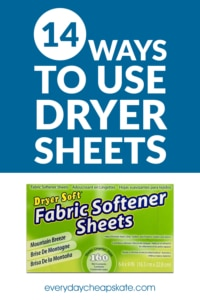 14 Ways To Use Dryer Sheets That Have Nothing To Do With Laundry