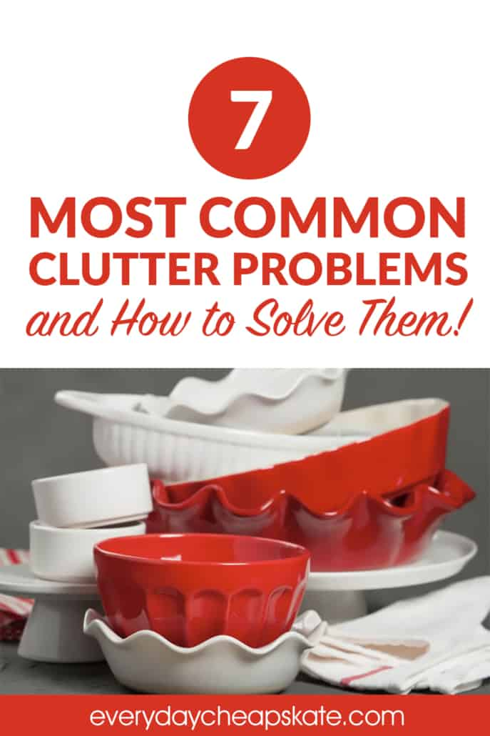The 7 Most Common Clutter Problems and How to Solve Them
