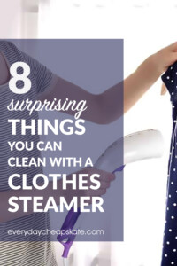 9 Surprising Things You Can Clean With A Clothes Steamer