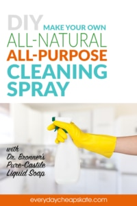 Make Your Own All-Natural All-Purpose Cleaning Spray